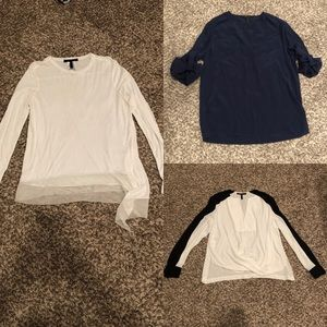 Bcbg bundle of size large tops